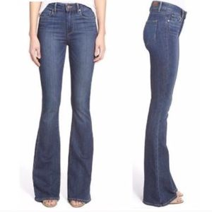 PAIGE High Rise FLARE Bell Canyon Jeans 28 Bells